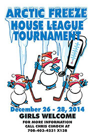 Arctic Freeze House Hockey Tournament